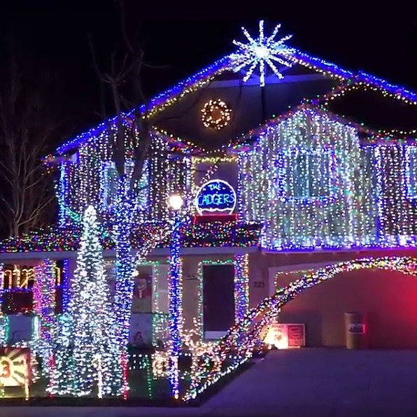 Treasure Valley Christmas Light Map