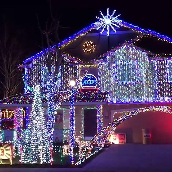 & Treasure Valley Christmas Light Map