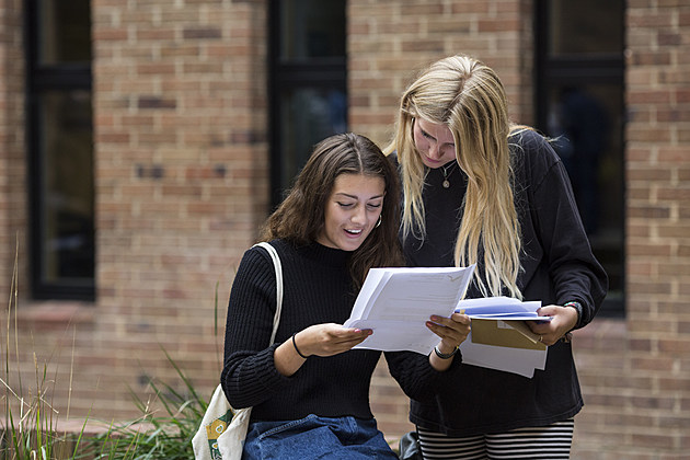 Pupils Receive Their GCSE Results