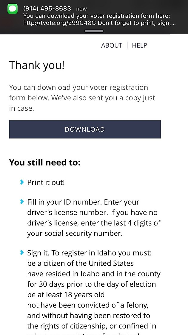 Quickly And Easily Register To Vote In Idaho