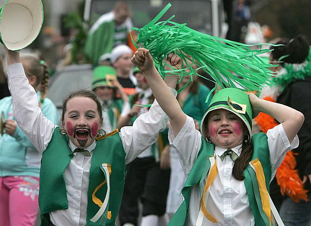 St Patrick's Day Celebrations Take Place In Belfast