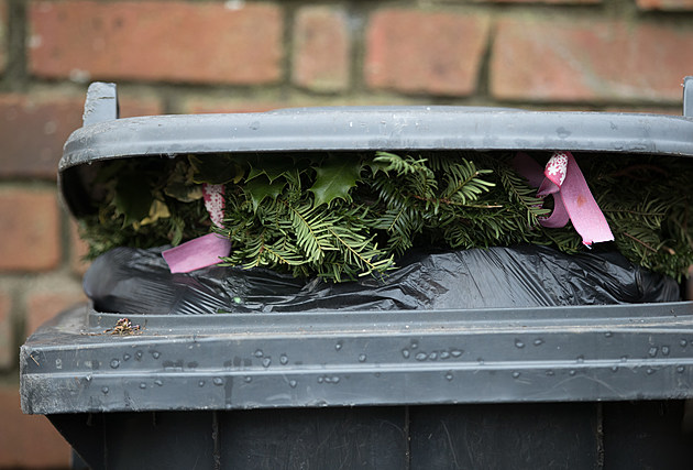 Christmas Rubbish And Recycling Causes Mounts Up