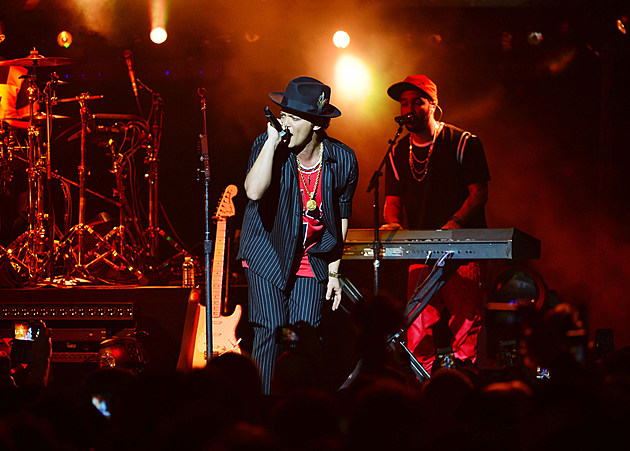 Bruno Mars New Year's Eve Celebration At The Chelsea