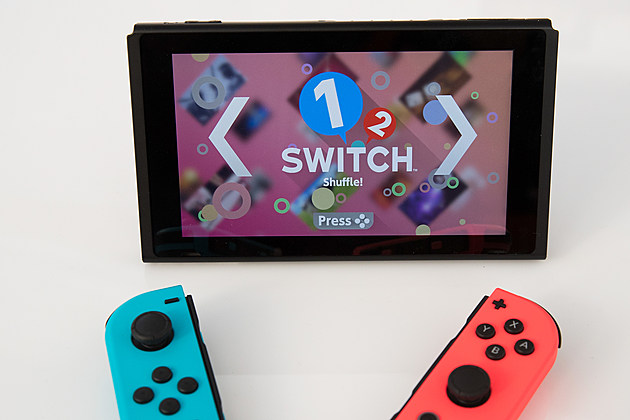 "Nintendo Releases New ""Switch"" Game Console"