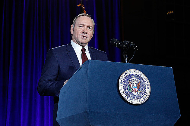 """The Smithsonian And Netflix Host A Portrait Unveiling And Season 4 Premiere Of """"House Of Cards"""""""