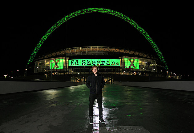 Ed Sheeran Announces Huge Headlining Show At Wembley Stadium Friday 10 July 2015 As Part Of His 'X' World Tour