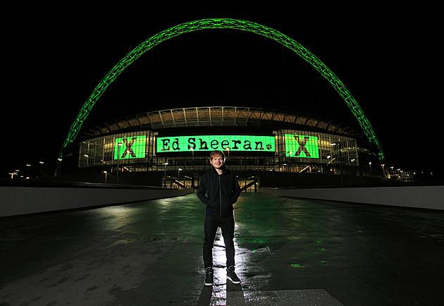 Ed Sheeran Announces Huge Headlining Show At Wembley Stadium Friday 10 July 2015 As Part Of His 'X' World Tour